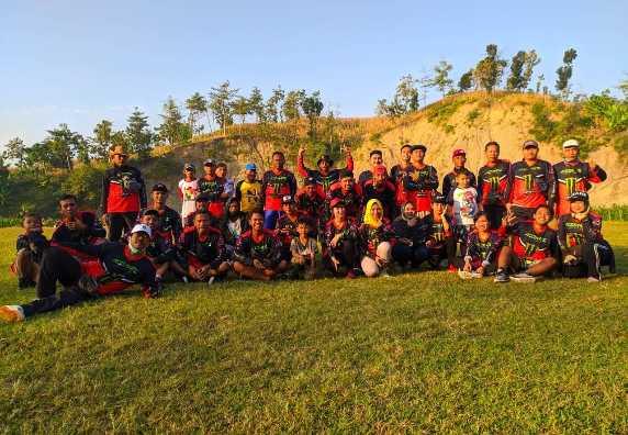 Tingkatkan Imun Tubuh Warga Dusun Tempel Gowes Tiap Minggu