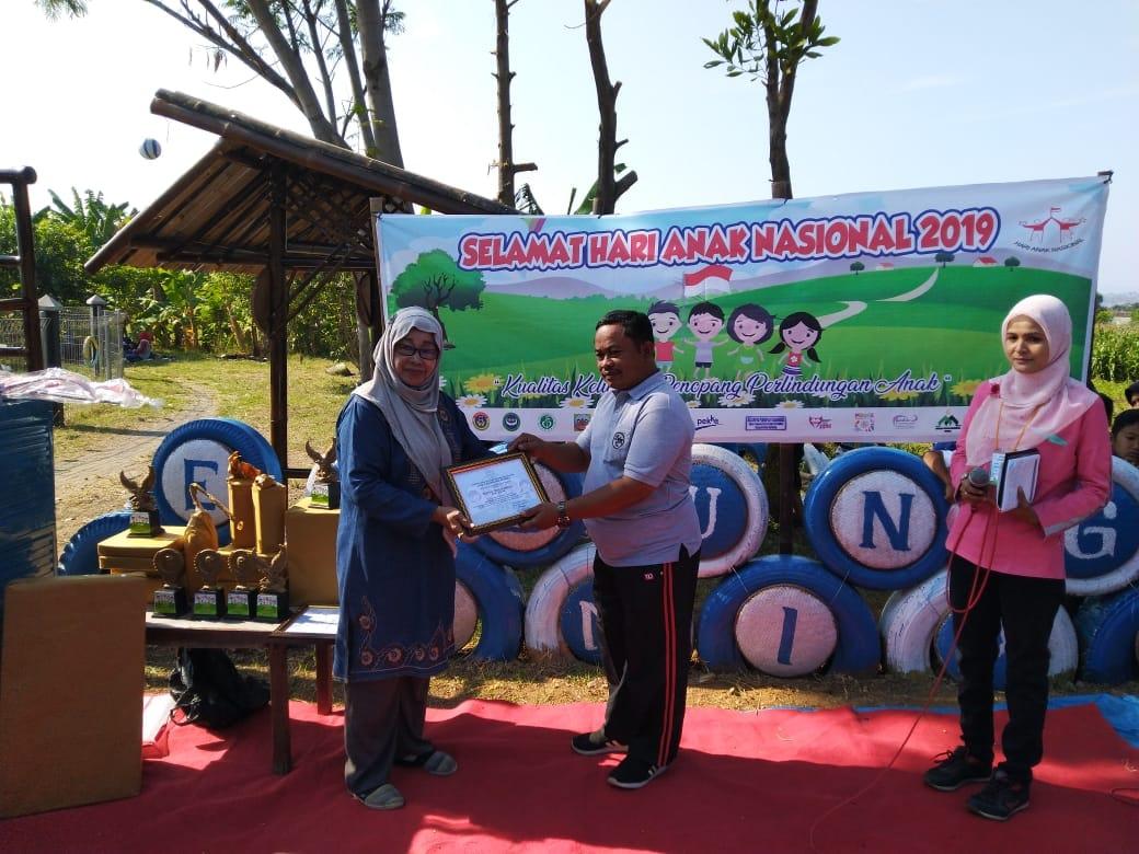 Bumiayu Menjadi Tuan Rumah Hari Anak nasional Kabupaten kendal Tahun 2019